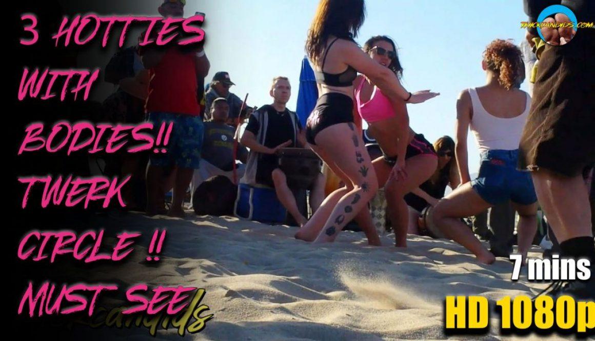 3-HOTTIES-WITH-BODIES!!-TWERK-CIRCLE-!!-MUST-SEE