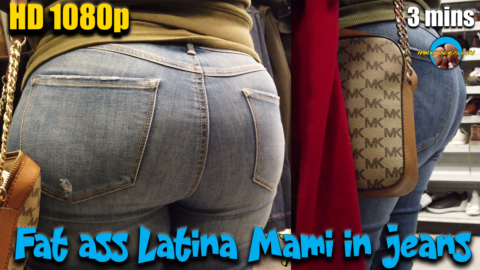 Fat-ass-Latina-Mami-in-jeans