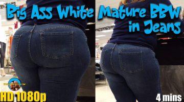 Big-Ass-White-Mature-BBW-in-Jeans
