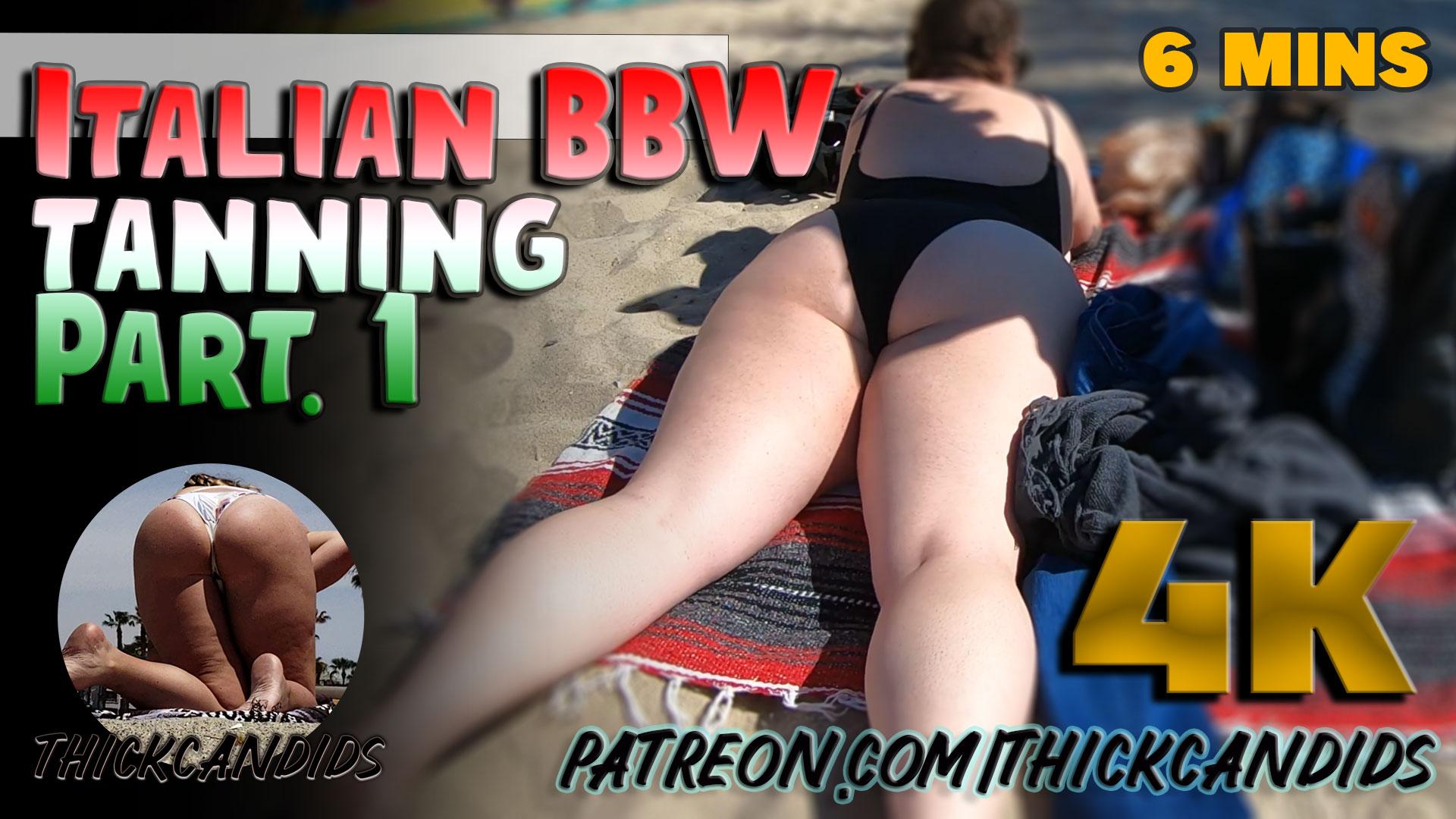 Italian-BBW-tanning-part.-1